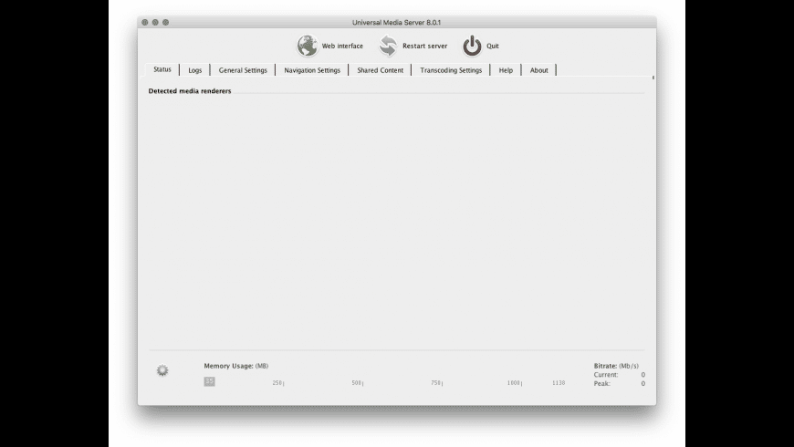 Universal Media Server for Mac - review, screenshots