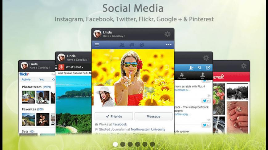 SocialFan for Mac - review, screenshots