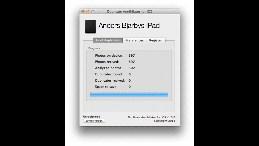 Duplicate Annihilator for iOS for Mac - review, screenshots