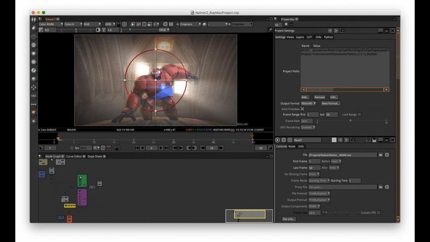 Natron for Mac - review, screenshots
