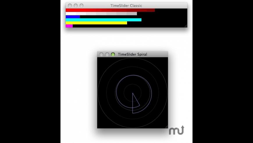 TimeSlider for Mac - review, screenshots