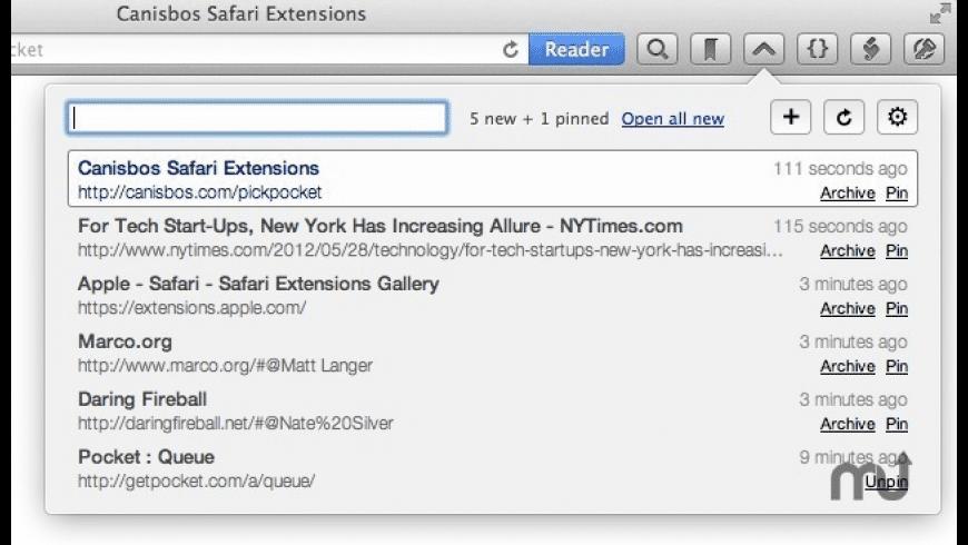 Pickpocket for Mac - review, screenshots
