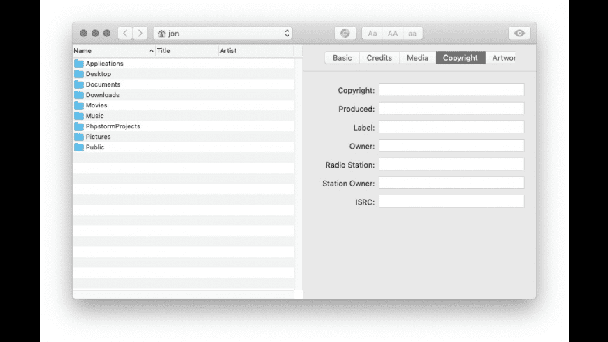 The Tagger for Mac - review, screenshots