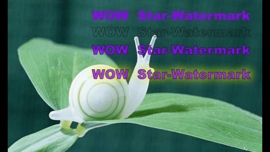 Star Watermark Ultimate for Mac - review, screenshots