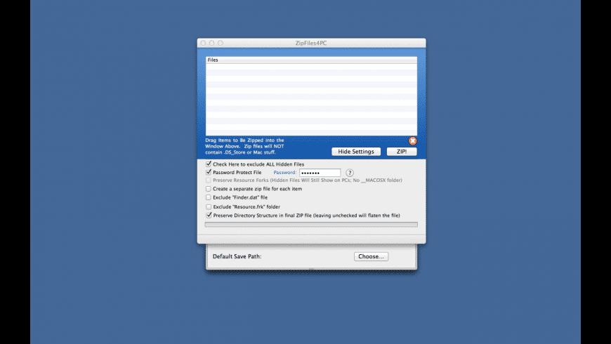 Zip Mac Files For PC for Mac - review, screenshots