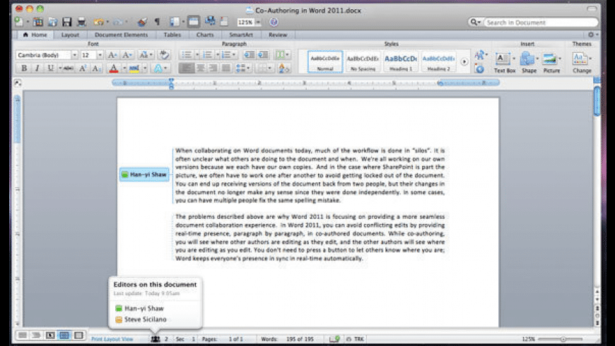 Microsoft Office 2011 for Mac - review, screenshots