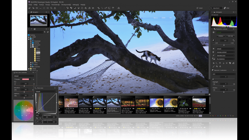 SILKYPIX Developer Studio for Mac - review, screenshots