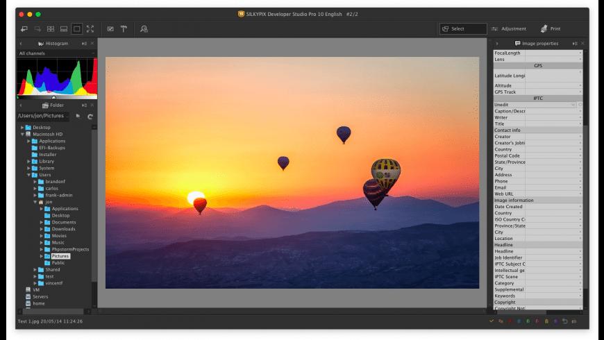 SILKYPIX Developer Studio Pro for Mac - review, screenshots
