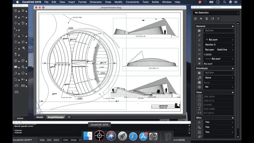 CorelCAD for Mac - review, screenshots