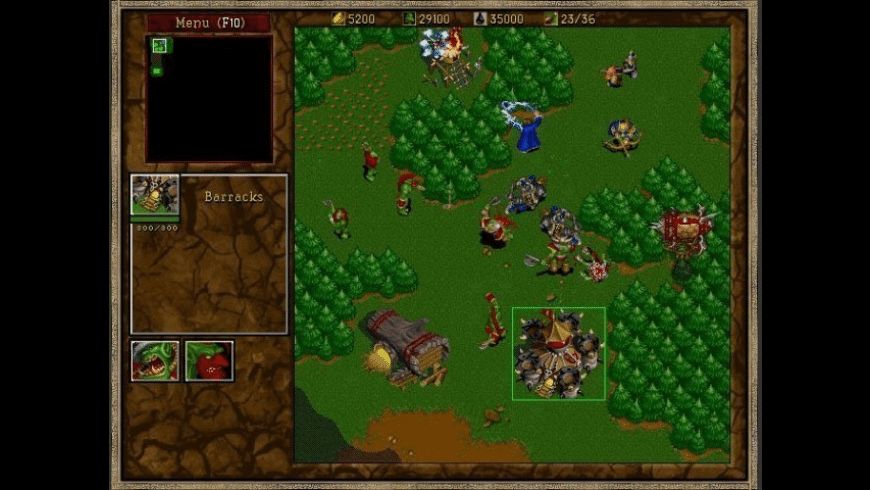 Warcraft 2 for Mac - review, screenshots