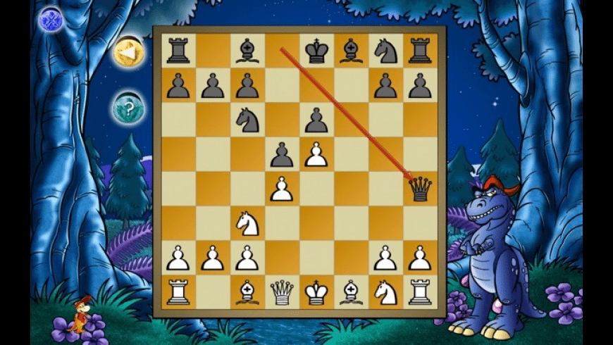 Dinosaur Chess for Mac - review, screenshots