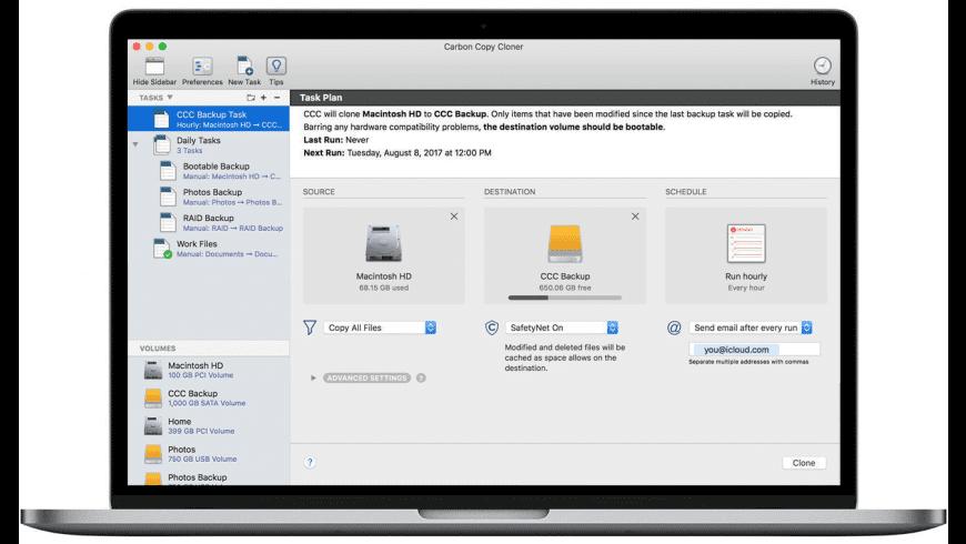 carbon copy cloner mac free download
