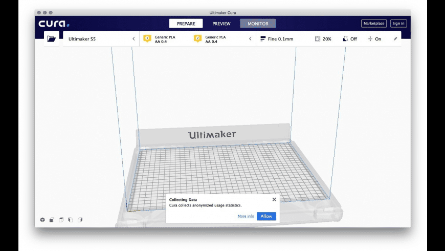 Ultimaker Cura for Mac - review, screenshots