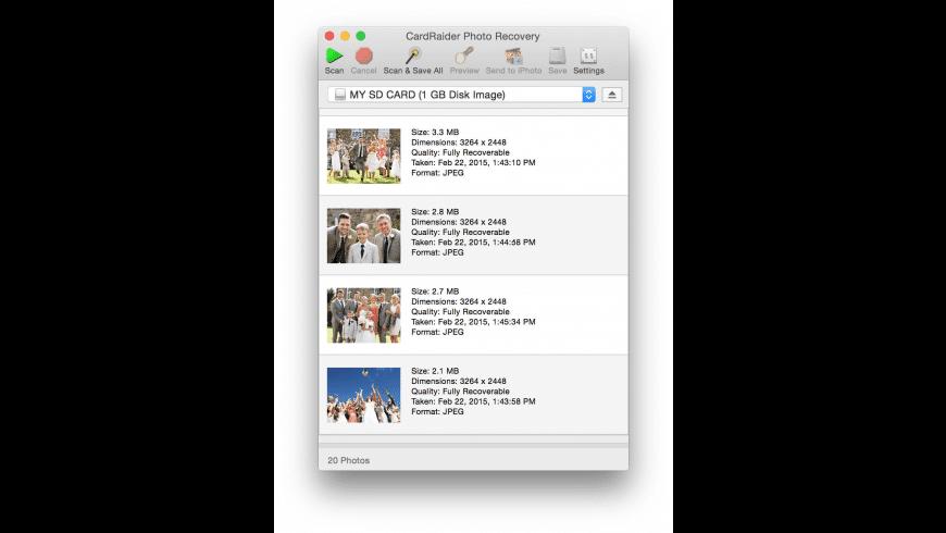 CardRaider for Mac - review, screenshots