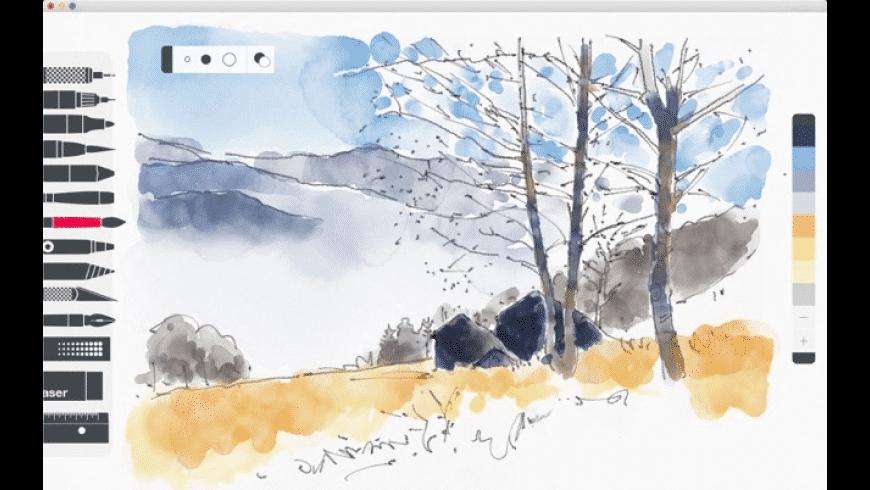 Tayasui Sketches for Mac - review, screenshots