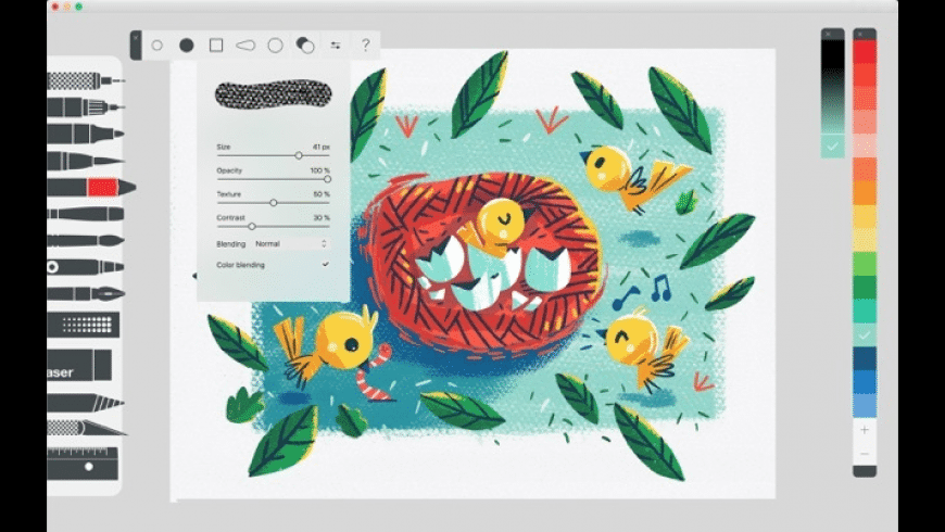 Tayasui Sketches for Mac - review, screenshots