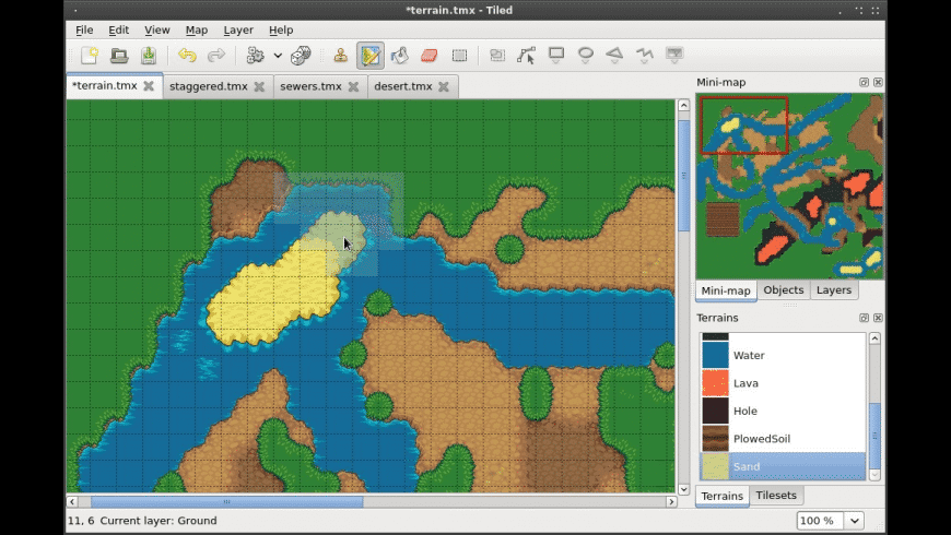 Tiled for Mac - review, screenshots