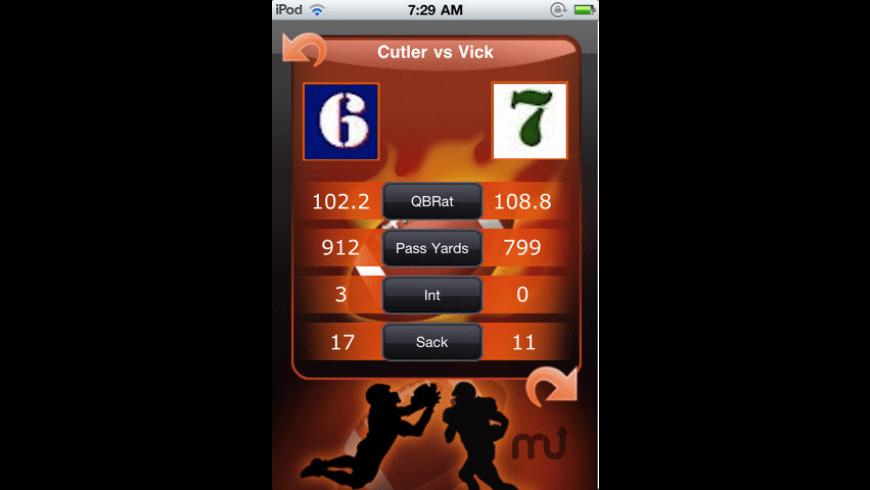 MVP Tracker (Football Edition) for Mac - review, screenshots