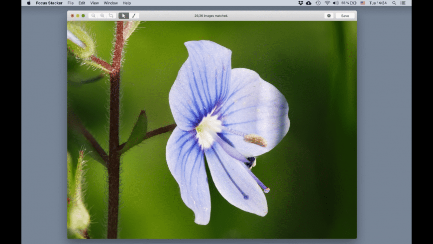 Focus Stacker for Mac - review, screenshots
