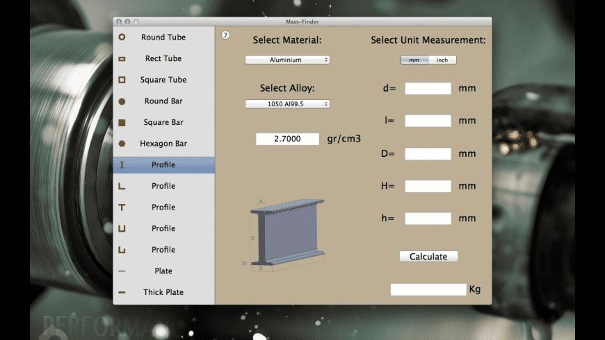 Mass-Finder for Mac - review, screenshots