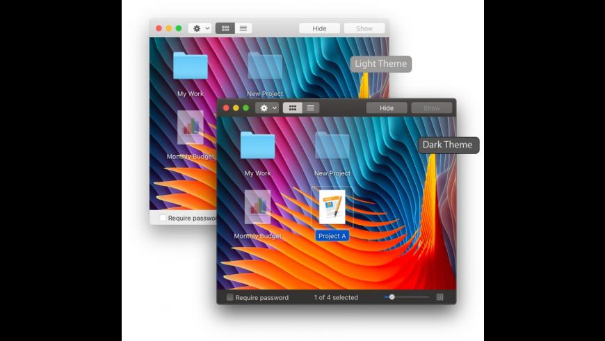 Hide Folders for Mac - review, screenshots