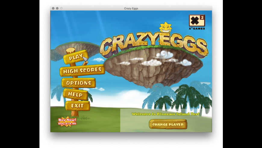 Crazy Eggs for Mac - review, screenshots