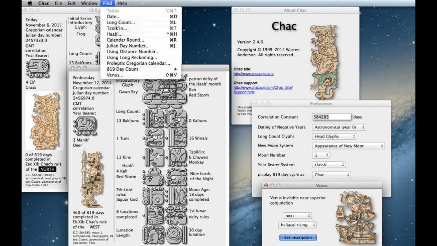Chac for Mac - review, screenshots