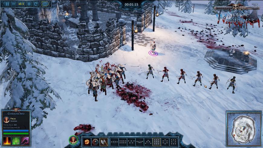 Nordic Warriors for Mac - review, screenshots