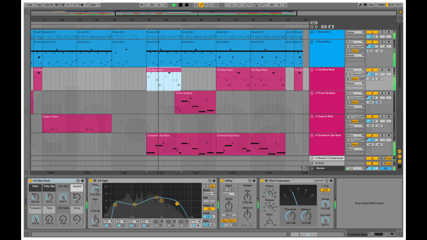 Ableton Live for Mac - review, screenshots