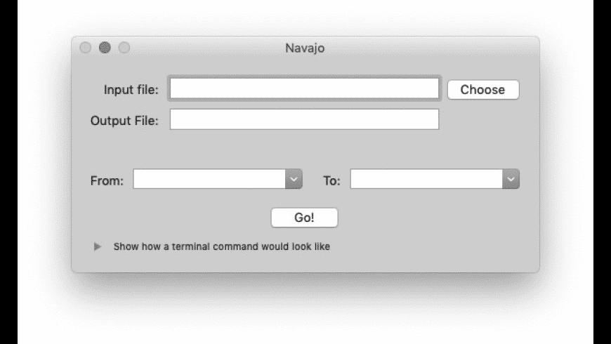 Navajo for Mac - review, screenshots
