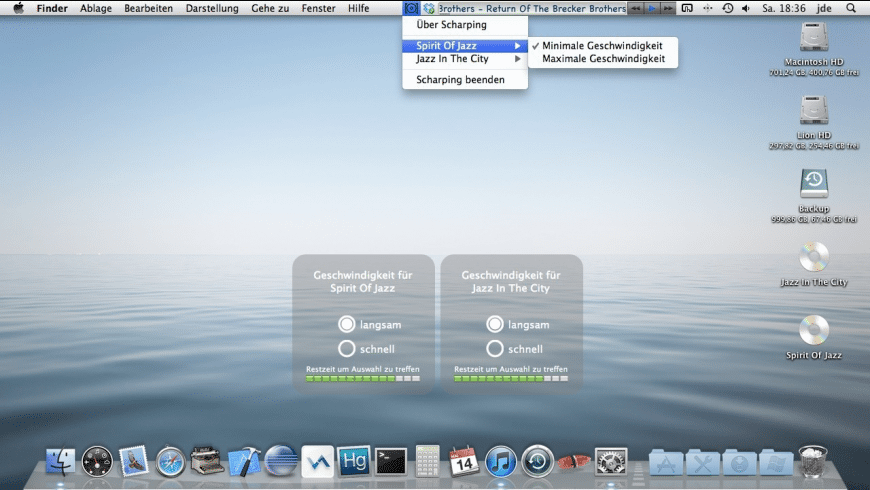 Scharping for Mac - review, screenshots