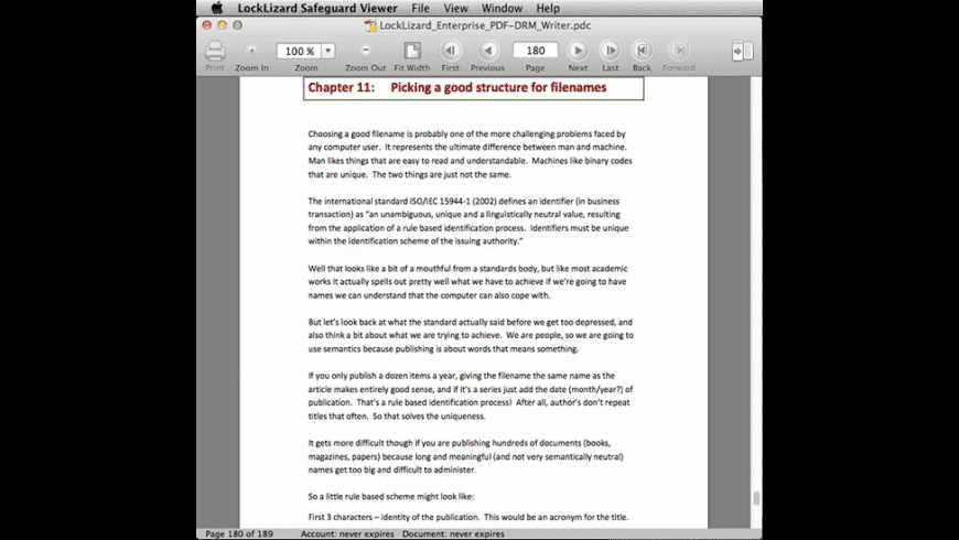 Safeguard PDF Document Security Viewer for Mac - review, screenshots