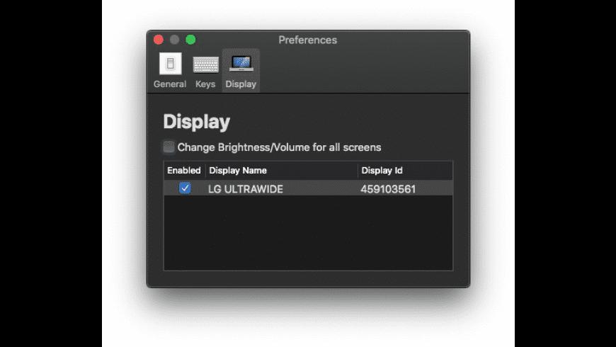 MonitorControl for Mac - review, screenshots