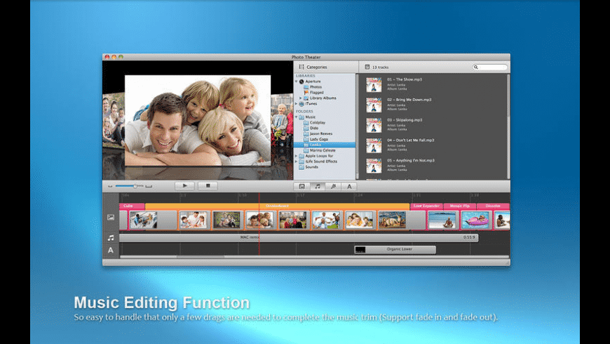 Photo Theater for Mac - review, screenshots