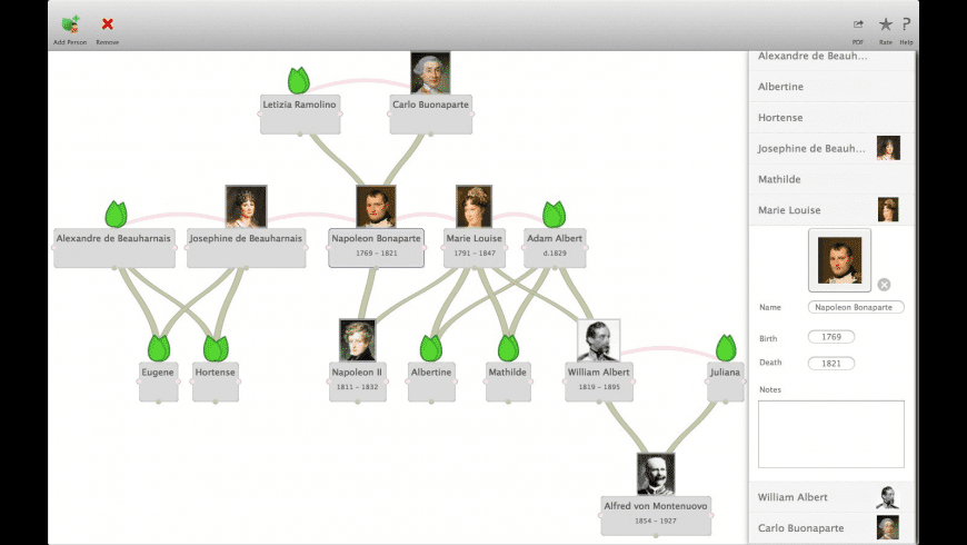 My Family Tree for Mac - review, screenshots