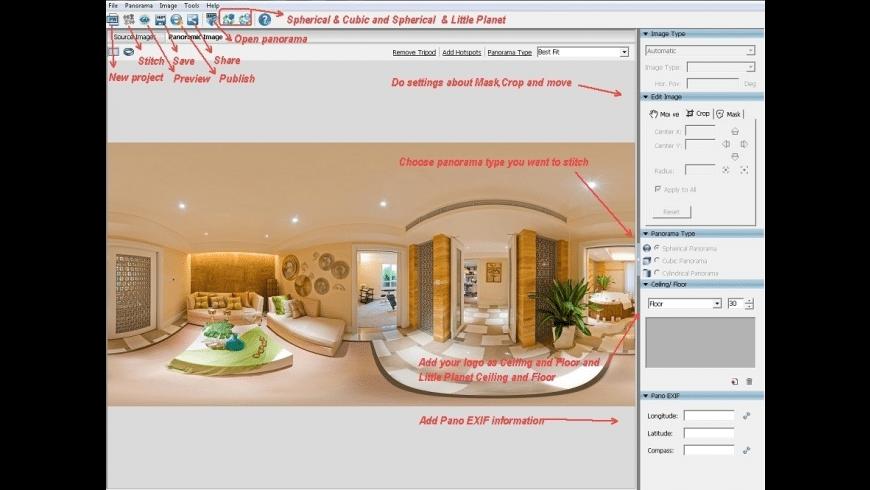 Panoweaver Standard for Mac - review, screenshots