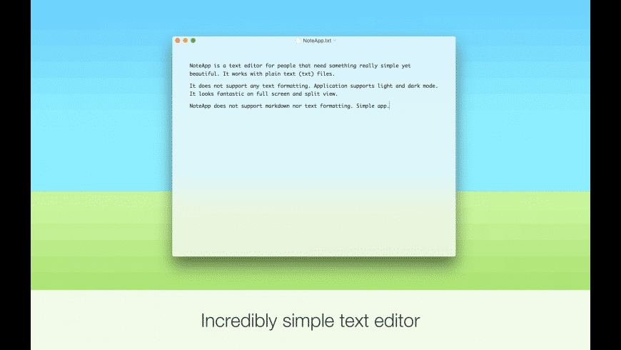 NoteApp for Mac - review, screenshots