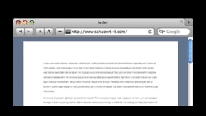 Word Browser Plugin for Mac - review, screenshots