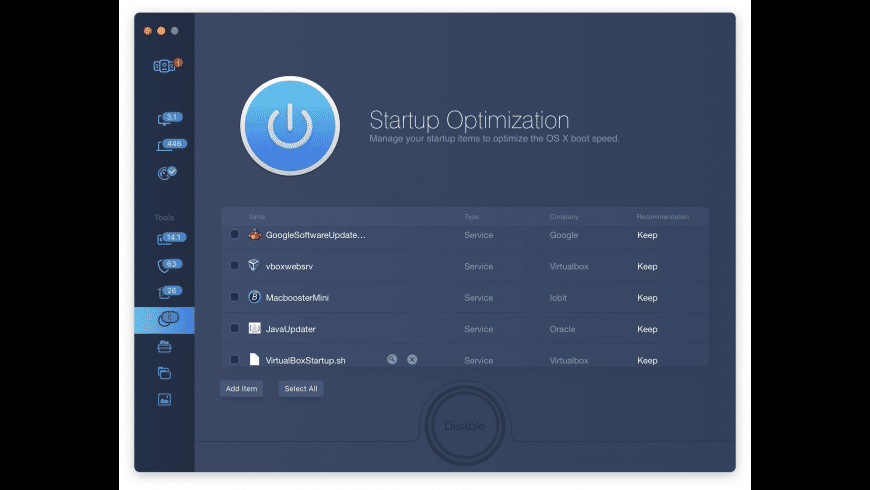 MacBooster for Mac - review, screenshots
