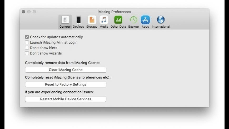 iMazing Family License for Mac - review, screenshots