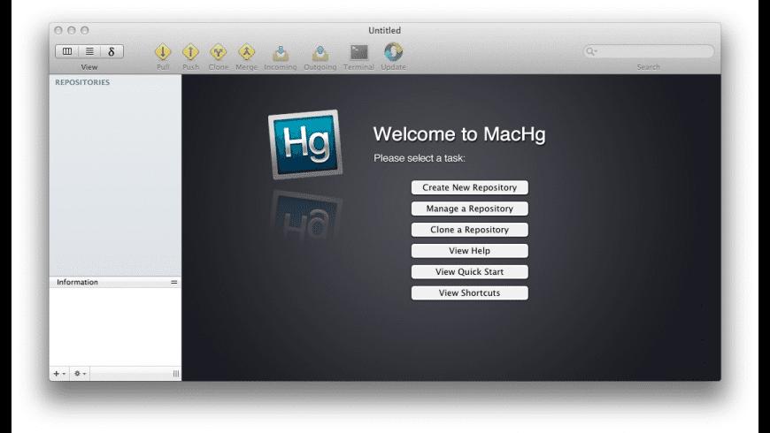 MacHg for Mac - review, screenshots