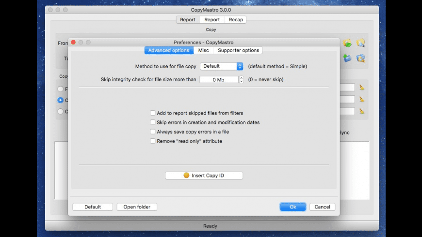 CopyMastro for Mac - review, screenshots