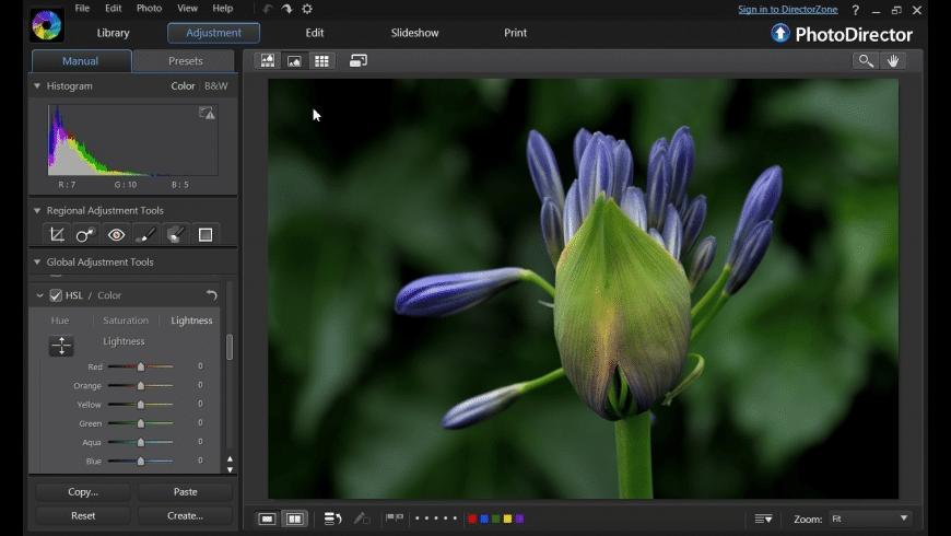PhotoDirector for Mac - review, screenshots