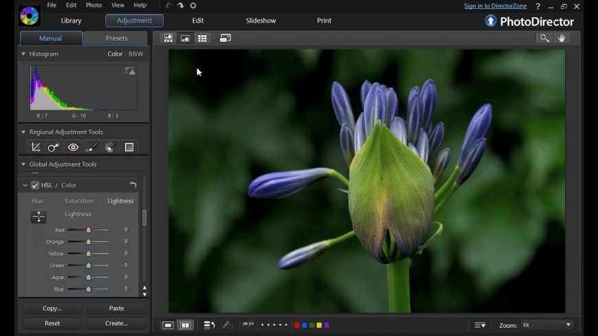 PhotoDirector for Mac - review, screenshots