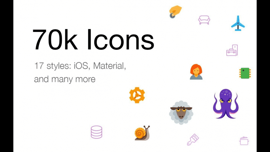 Icons8 for Mac - review, screenshots
