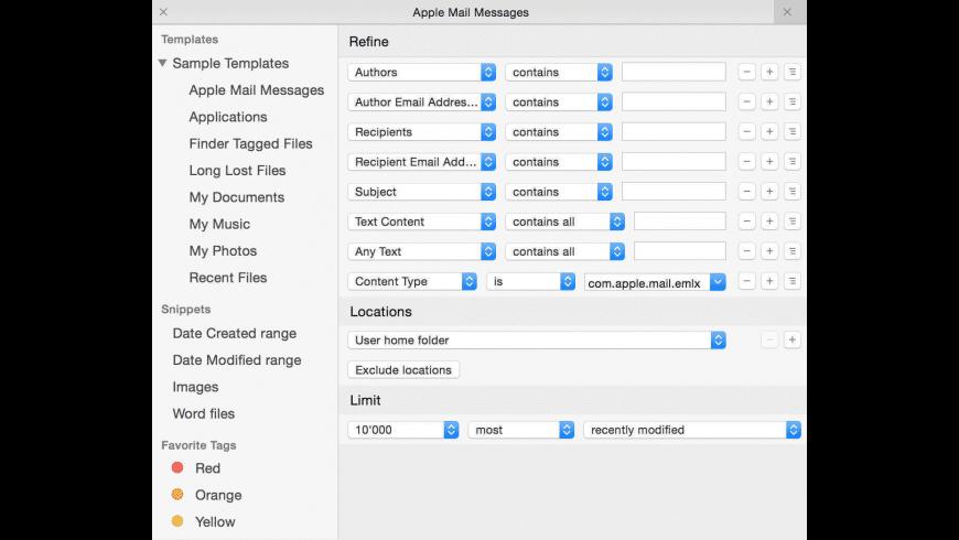 HoudahSpot for Mac - review, screenshots
