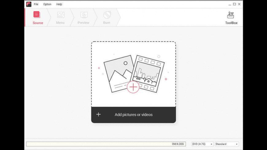 Wondershare DVD Creator for Mac - review, screenshots