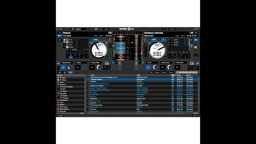 Serato DJ for Mac - review, screenshots