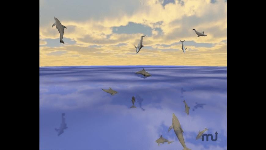 Desktop Dolphins 3D Screen Saver for Mac - review, screenshots
