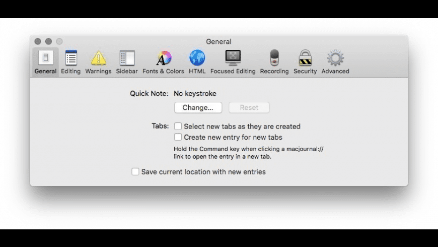 MacJournal for Mac - review, screenshots
